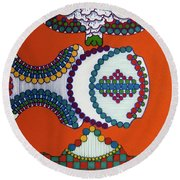 Rfb0402 Round Beach Towel