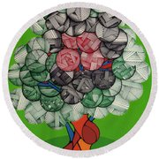 Rfb0503 Round Beach Towel
