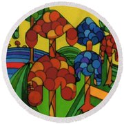 Rfb0544 Round Beach Towel
