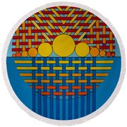 Rfb0700 Round Beach Towel