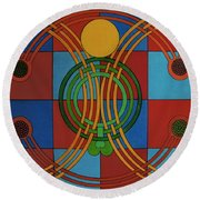 Rfb0705 Round Beach Towel