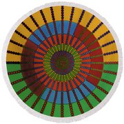 Rfb0707 Round Beach Towel