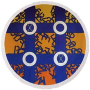Rfb0800 Round Beach Towel