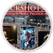 Rfrockshots Classic Rock N Round Beach Towel