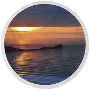 Rhosili 5 Round Beach Towel