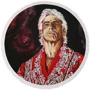 Ric Flair Round Beach Towel