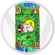 Rich Forever Round Beach Towel