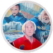 Richard Harris Round Beach Towel