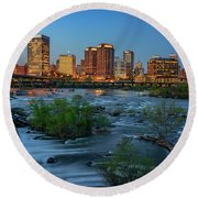 Richmond Twilight Round Beach Towel