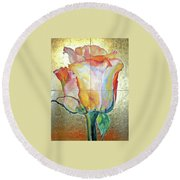 Richness Round Beach Towel