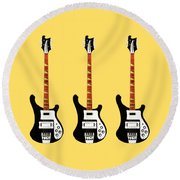 Rickenbacker 4001 1979 Round Beach Towel