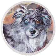 Riley Round Beach Towel by Julie Maas