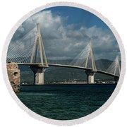 Rio-andirio Hanging Bridge Round Beach Towel