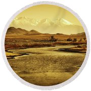 Rio Grande Colorado Round Beach Towel
