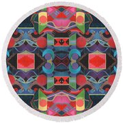 Rising Above And Synergy 4 Round Beach Towel