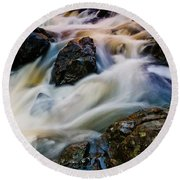 River Dance Round Beach Towel