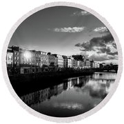 River Liffey Round Beach Towel