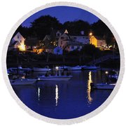 River Reflections Rirep Round Beach Towel
