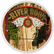 River Room Georgetown South Carolina Round Beach Towel by Bob Pardue