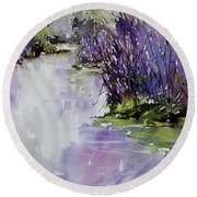 River Seduction Round Beach Towel