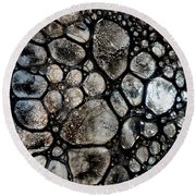 River Stone 14 Round Beach Towel