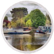 Riverview Vii Round Beach Towel