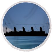 Rms Titantic V4 Round Beach Towel