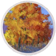 Roadside Attraction Round Beach Towel