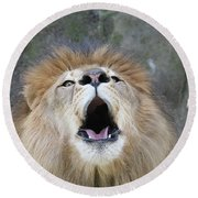 Roar Round Beach Towel