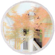 Robert F. Thomas Chapel Round Beach Towel