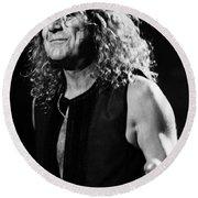 Robert Plant-0039 Round Beach Towel