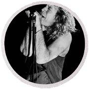 Robert Plant-0040 Round Beach Towel