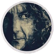 Robert Plant - Led Zeppelin Round Beach Towel