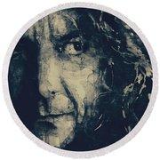 Robert Plant - Led Zeppelin Round Beach Towel