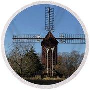 Robertsons Windmill Round Beach Towel
