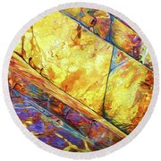 Rock Art 23 Round Beach Towel