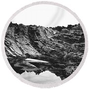Rock - Detail Round Beach Towel
