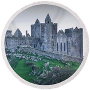 Rock Of Cashel 2017  Round Beach Towel