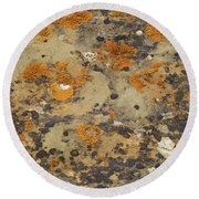 Rock Pattern Round Beach Towel