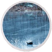 Rock Solid Frozen Round Beach Towel