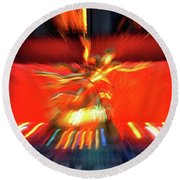 Rockefeller Center Round Beach Towel