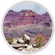 Rockin' Canyon Round Beach Towel