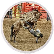 Rodeo 4 Round Beach Towel
