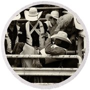Rodeo Land Of The Stetson Round Beach Towel