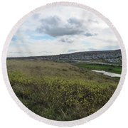 Rolling Hill Round Beach Towel