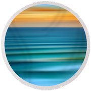 Rolling In Round Beach Towel