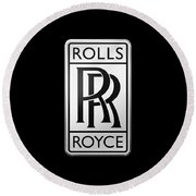 Rolls Royce Round Beach Towel