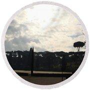 Roma, Villa Borghese Round Beach Towel