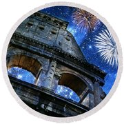 Round Beach Towel featuring the photograph Roman Holiday by Aurelio Zucco
