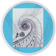Romeo And Juliet Round Beach Towel